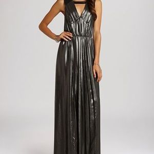 BCBGeneration Pleated Maxi Dress